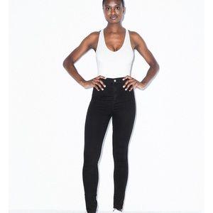 NWT American Apparel Easy Jeans Black